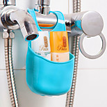 cheap -Hooks Multi-function Easy to Use Novelty Storage Removable Creative Basic Plastic PVC Bath Organization Other Bathroom Accessories Shower