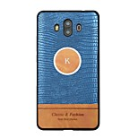 cheap -Case For Huawei Mate 10 pro Mate 10 Pattern Back Cover Word / Phrase Hard PU Leather for Mate 10 Mate 10 pro