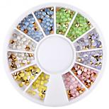 Недорогие -1 Украшения для ногтей Стиль горный хрусталь Сверкающий На каждый день Советы для ногтей