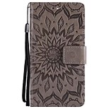 cheap -Case For Sony Xperia Z5 Mini Xperia Z5 Wallet Flip Full Body Cases Solid Color Hard PU Leather for Sony Xperia Z3 Sony Xperia Z3 Mini