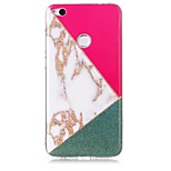 cheap -Case For Huawei P8 Lite (2017) P10 Lite IMD Pattern Back Cover Marble Glitter Shine Soft TPU for P10 Lite Huawei P9 Lite P8 Lite (2017)