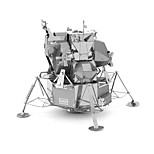 cheap -3D Puzzles Metal Puzzles Lunar Landing Creative Focus Toy Hand-made Metal Military Standing Style Toy Girls' Boys' Gift