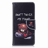cheap -Case For Huawei P9 lite mini P8 Lite (2017) Card Holder Wallet with Stand Flip Pattern Full Body Cases Word / Phrase Hard PU Leather for