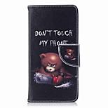 Недорогие -Кейс для Назначение Huawei P9 lite mini P8 Lite (2017) Бумажник для карт Кошелек со стендом Флип С узором Чехол Слова / выражения Твердый