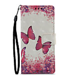 cheap -Case For Sony Xperia XZ1 Xperia XA1 Card Holder Wallet with Stand Flip Pattern Full Body Cases Butterfly Hard PU Leather for Sony Xperia