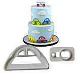 Недорогие -Автомобиль Для приготовления пищи Посуда силикагель Высокое качество Инструмент выпечки