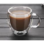 Недорогие -Высокое боровое стекло Стекло Кофейные чашки Свадьба Годовщина Drinkware 1
