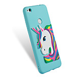 cheap -Case For Huawei P8 Lite (2017) P10 Lite Pattern DIY Back Cover Unicorn Soft TPU for P10 Lite P8 Lite (2017) Honor 7X Honor 6A Mate 10 pro