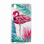 cheap -Case For Sony Xperia XA Xperia L1 Pattern Back Cover Flamingo Soft TPU for Xperia XZ1 Compact Sony Xperia XZ1 Sony Xperia XA1 Sony Xperia