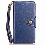 economico -Custodia Per Huawei Honor 9 Honor 8 Porta-carte di credito A portafoglio Con supporto Con chiusura magnetica A calamita Integrale Tinta