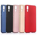 cheap -Case For Huawei P20 Pro P20 Frosted Back Cover Solid Colored Hard PC for Huawei P20 lite Huawei P20 Pro Huawei P20