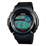 cheap -SKMEI Men's Digital Sport Watch Japanese Chronograph Water Resistant / Water Proof Noctilucent Stopwatch Dual Time Zones PU Band Casual