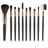 cheap -10-Pack Professional Makeup Brushes Makeup Brush Set / Foundation Brush / Powder Brush Nylon Full Coverage Plastic 3 * Eyeshadow Brush /