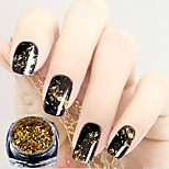 cheap -1 pcs Nail Glitter Glitters / Metallic Nail Art Design Fashionable Design / Mirrored Casual / Daily