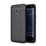 abordables -Funda Para HTC U11 Life Congelada En Relieve Funda Trasera Un Color Suave TPU para HTC U11 Life