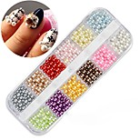 cheap -1pcs Nail Jewelry Fashionable Jewelry Circular Colorful Daily Nail Art Forms