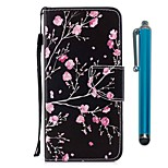 cheap -Case For Wiko WIKO Sunny 2 plus Card Holder Wallet with Stand Flip Magnetic Full Body Cases Flower Hard PU Leather for Wiko View XL Wiko