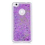 cheap -Case For Huawei P10 Lite P8 Lite (2017) Flowing Liquid Mirror Glitter Shine Back Cover Glitter Shine Hard PC for P10 Lite P8 Lite (2017)