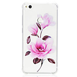 cheap -Case For Huawei P20 lite P10 Lite Shockproof Transparent Pattern Back Cover Flower Soft TPU for Huawei P20 lite P10 Lite Huawei P9 Lite