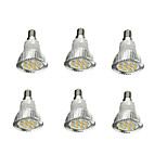 economico -6pcs 5W 380-420lm E14 Faretti LED 16 Perline LED SMD 5630 Decorativo Bianco caldo 85-265V