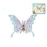 Недорогие -Деревянные пазлы Пазлы и логические игры Бабочки Птица Мода Классика Мода Новый дизайн профессиональный уровень Фокусная игрушка Стресс и
