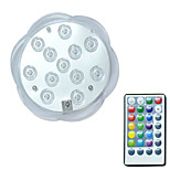 cheap -BRELONG® 1pc 3W Underwater Lights Remote Controlled Waterproof Decorative Swimming pool RGB 5.5V