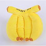 Недорогие -Плюшевые игрушки Жевательные игрушки Игрушки с писком Мягкость Фрукты Плюш Назначение Собаки Коты