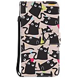cheap -Case For Huawei Mate 10 Mate 10 lite Card Holder Wallet with Stand Flip Magnetic Full Body Cases Cat Hard PU Leather for Mate 10 lite