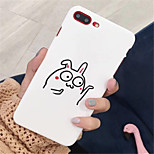 cheap -Case For Apple iPhone X / iPhone 7 Plus Pattern Back Cover Cartoon Hard PC for iPhone X / iPhone 8 Plus / iPhone 8