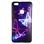 cheap -Case For Huawei P10 Lite P8 Lite (2017) Pattern Back Cover Butterfly Soft TPU for P10 Lite Huawei P9 Lite Huawei P9 P8 Lite (2017) Huawei