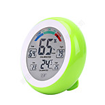 cheap -Touch Screen Digital Temperature Humidity Thermometer Hygrometer Temperature Humidity Sensor Platform ThermometerforHome