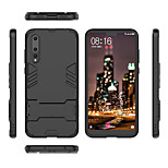 cheap -Case For Huawei P20 lite P20 Shockproof with Stand Back Cover Armor Hard PC for Huawei P20 lite Huawei P20 Pro Huawei P20