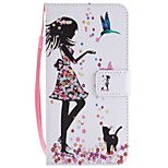 cheap -Case For Huawei Mate 10 Mate 10 lite Card Holder Wallet with Stand Flip Magnetic Full Body Cases Sexy Lady Hard PU Leather for Mate 10