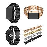 Недорогие -Ремешок для часов для Apple Watch Series 3 / 2 / 1 Apple Классическая застежка Нержавеющая сталь Повязка на запястье