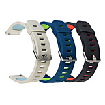 cheap -Watch Band for Gear S3 Frontier Samsung Galaxy Modern Buckle Silicone Wrist Strap