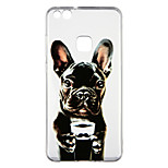 cheap -Case For Huawei P10 Lite Transparent Pattern Back Cover Dog Soft TPU for P10 Lite