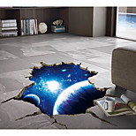 cheap -Wall Decal Decorative Wall Stickers - 3D Wall Stickers Abstract Removable