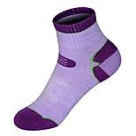 Недорогие -Спортивные носки / спортивные носки Велоспорт Носки Жен. Анатомический дизайн / Пригодно для носки / Анти-скольжение 1 пара Весна, осень,