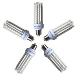 cheap -5pcs 15W 1200lm E26 / E27 LED Corn Lights T 72 LED Beads SMD 2835 Warm White 220-240V