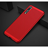 cheap -Case For Huawei P20 lite P20 Ultra-thin Frosted Back Cover Solid Colored Hard PC for Huawei P20 lite Huawei P20 Pro Huawei P20