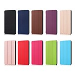 cheap -Case For Huawei MediaPad Huawei MediaPad M5 10 Origami Full Body Cases Solid Colored Hard PU Leather for Huawei MediaPad M5 10