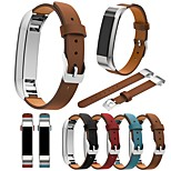 cheap -Watch Band for Fitbit Alta Fitbit Classic Buckle Genuine Leather Wrist Strap