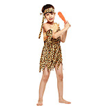 cheap -American Indian Costume Kid's Masquerade Festival / Holiday Halloween Costumes Yellow American/USA Ethnic