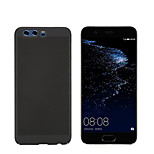 cheap -Case For Huawei P10 P10 Lite Frosted Back Cover Solid Colored Hard PC for P10 Plus P10 Lite P10 Huawei P9 Lite P8 Lite (2017)