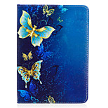 cheap -Case For Amazon Kindle Voyage Card Holder Wallet with Stand Pattern Auto Sleep / Wake Up Full Body Cases Butterfly Hard PU Leather for