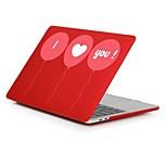 """Недорогие -MacBook Кейс для Романтика / С сердцем пластик Новый MacBook Pro 15"""" / Новый MacBook Pro 13"""" / MacBook Pro, 15 дюймов"""