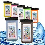 economico -Custodia Per Apple iPhone 6 iPhone 7 A portafoglio Resistente all'acqua Impermeabile Transparente Borsetta marsupio Tinta unita Morbido
