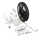 Недорогие -ZDM® 5 метров Наборы ламп 300 светодиоды 1 x диммерный переключатель 1 адаптер питания x 2A Тёплый белый Холодный белый Можно резать