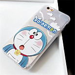 cheap -Case For Apple iPhone 6 Plus iPhone 7 Plus Pattern Back Cover Cartoon Soft TPU for iPhone 8 Plus iPhone 8 iPhone 7 Plus iPhone 7 iPhone