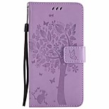 cheap -Case For Huawei P9 Lite P9 Wallet with Stand Flip Full Body Cases Flower Tree Hard PU Leather for Huawei P9 Lite Huawei P9